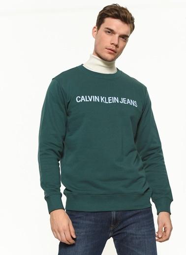 Calvin Klein Sweatshirt Yeşil